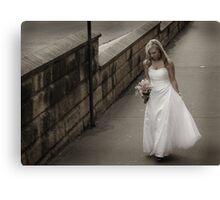 Bridal path Canvas Print