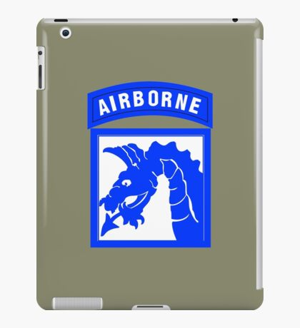 XVIII Airborne Corps (US Army) iPad Case/Skin