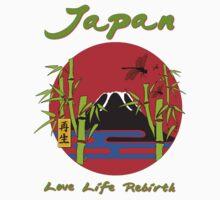 JAPAN - LOVE, LIFE, REBIRTH by GUS3141592