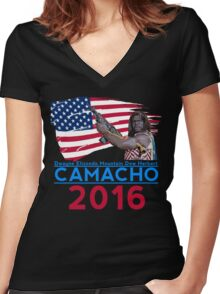 Camacho 2016 Women's Fitted V-Neck T-Shirt