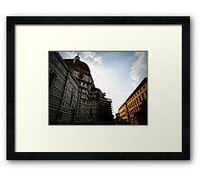 Ciao Firenze Framed Print