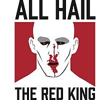 All Hail The Red King! Photographic Print