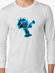 Spaceman Spiff - Black and Blue Long Sleeve T-Shirt