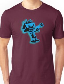 Spaceman Spiff - Black and Blue Unisex T-Shirt
