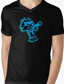 Spaceman Spiff - Black and Blue Mens V-Neck T-Shirt