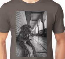 A cute stray dog relaxing Unisex T-Shirt