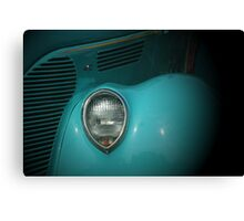 Classic in Turquoise Canvas Print