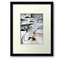 Grey Skies Framed Print
