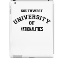 SOUTHWEST UNIVERSITY OF NATIONALITIES iPad Case/Skin