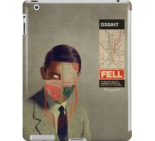 Fell iPad Case/Skin
