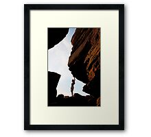 Sunset Canyon  Framed Print