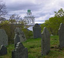 Burial Hill in Plymouth, MA by MaryinMaine