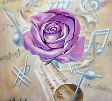 Pink rose symphony by Evgenia Attia