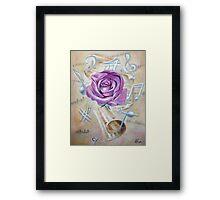 Pink rose symphony Framed Print