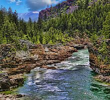 Kootenai River - The River Wild by rocamiadesign