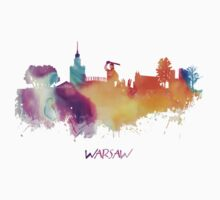 Warsaw Poland skyline Kids Clothes