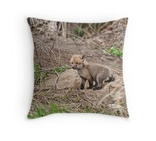 The curious one!! Throw Pillow
