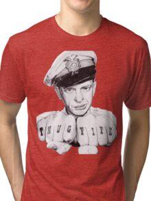 Barney Fife meets Thug Life Tri-blend T-Shirt