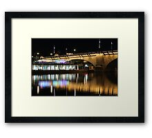 Havasu At Night Framed Print