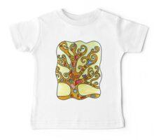 Owl in Kimt's Tree of Life Baby Tee