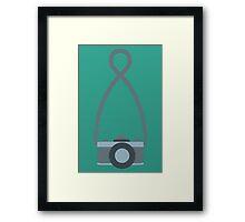 Minimalist SLR  Framed Print