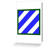 3rd Infantry Division (United States) Greeting Card