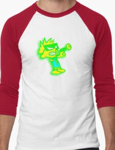 Spaceman Spiff - Green and Yellow Men's Baseball ¾ T-Shirt