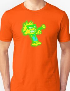 Spaceman Spiff - Green and Yellow T-Shirt