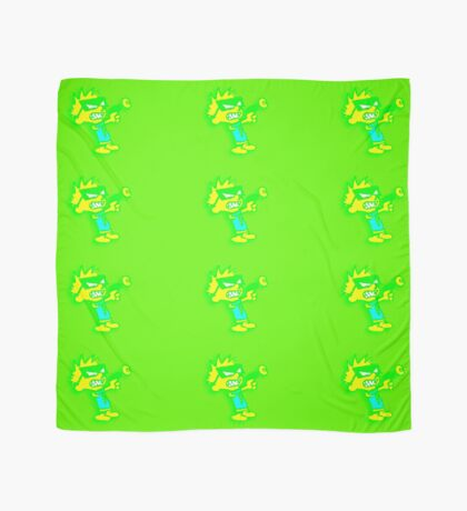 Spaceman Spiff - Green and Yellow Scarf