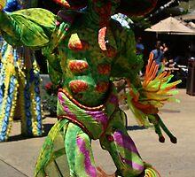 Jungala dancer at Busch Gardens by Sheryl Unwin