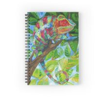 Panther chameleon Spiral Notebook