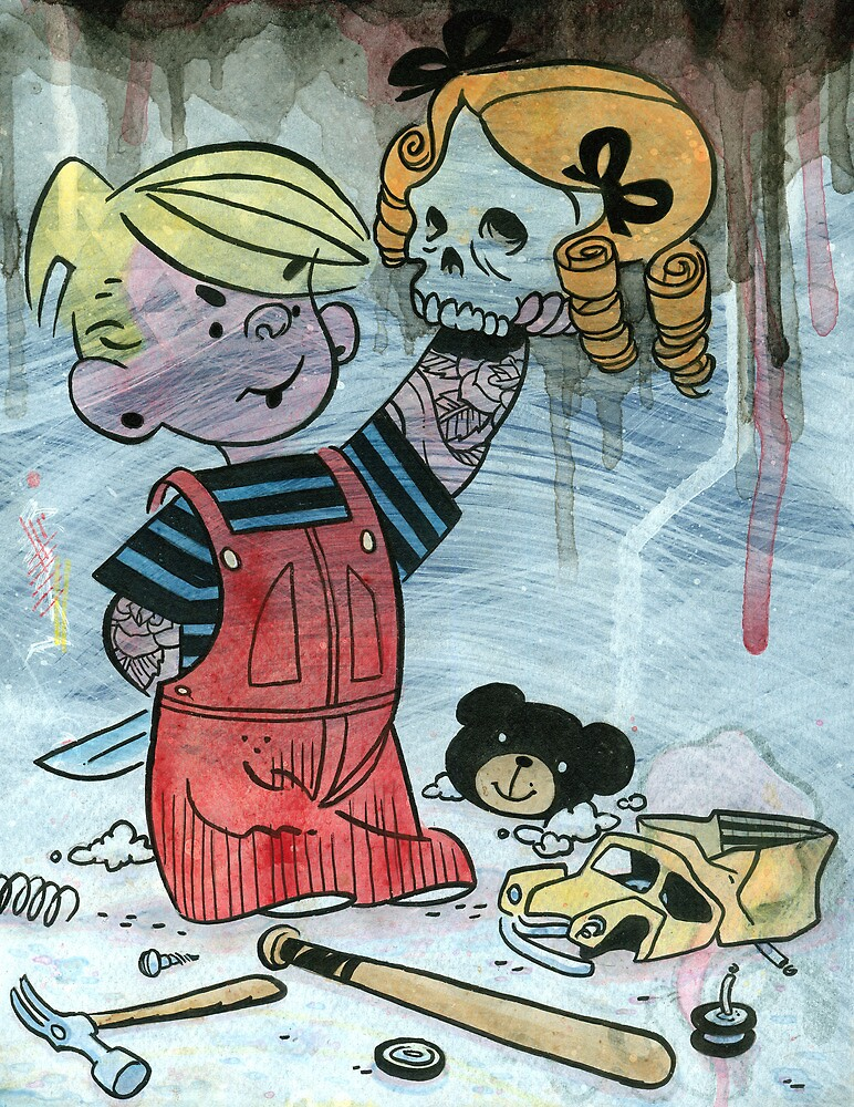 Dennis the Menace to Society by Damian King
