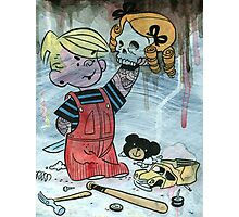 Dennis the Menace to Society Photographic Print