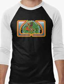 Classic Centipede Woodcut Men's Baseball ¾ T-Shirt