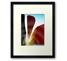 Splinter Framed Print