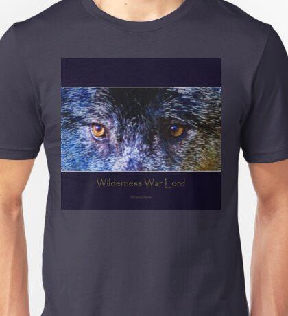 Grey Wolf Eyes III Art Poster Unisex T-Shirt