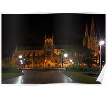 The St Marys Cathedral, Sydney 2010 Poster