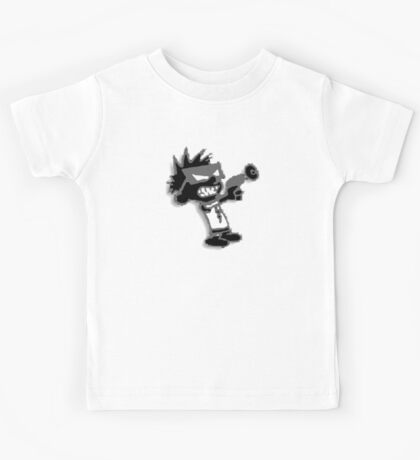 Spaceman Spiff - Black and Grey Kids Tee