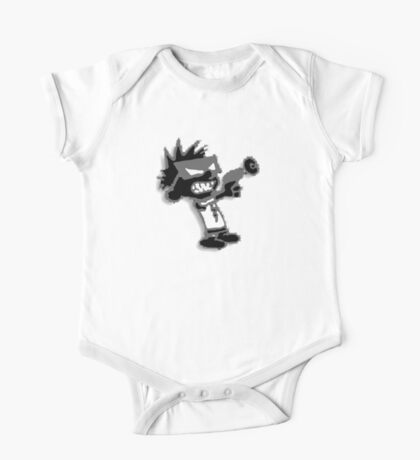 Spaceman Spiff - Black and Grey One Piece - Short Sleeve