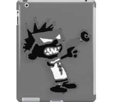 Spaceman Spiff - Black and Grey iPad Case/Skin