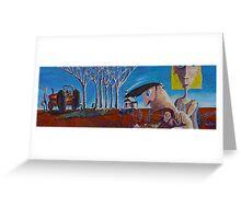 Dead Crocodile: Part 1- Broken Fence Greeting Card