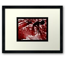 LOCKED IN SPOIL Framed Print