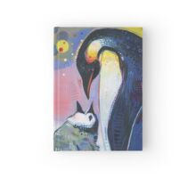 Emperor penguins Hardcover Journal