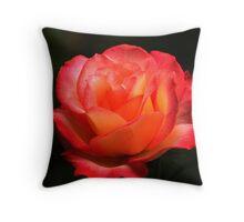 Not A Second Hand Rose Throw Pillow