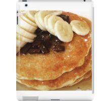 Banana & Chocolate Chip Pancakes iPad Case/Skin