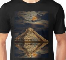 Chichen Itza Ancient Mayan Temple Art Unisex T-Shirt
