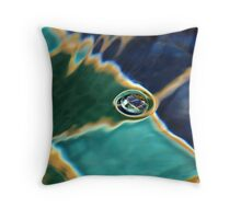 Bubble in the Fountain Throw Pillow