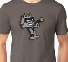 Spaceman Spiff - Greyscale Unisex T-Shirt