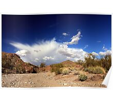 Arizona Clouds Poster