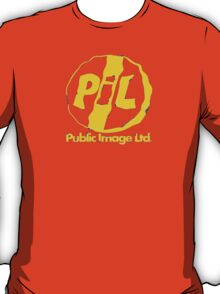 P.I.L. ( Yellow Print ) T-Shirt